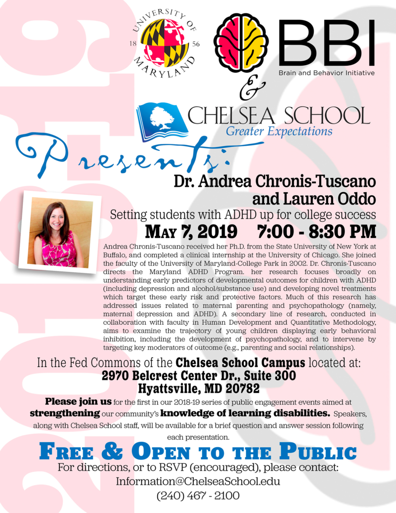 Link Between Adhd Academic Expectations >> Setting Students With Adhd Up For College Success Chelsea School